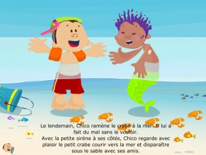 iStory iPad Apps of All Nations La Souris Grise 5