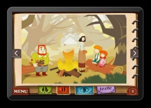Hansel et Gretel Application iPhone iPad So Ouat Chocolapps 2