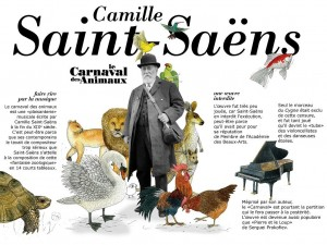 Lecarnaval des animaux Camille Saint Saens iPad iPhone Camera Lucida France Télévisions 2