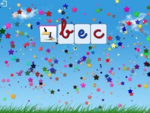 L'escapadou Dictée Montessori appli iPad iPhone 4