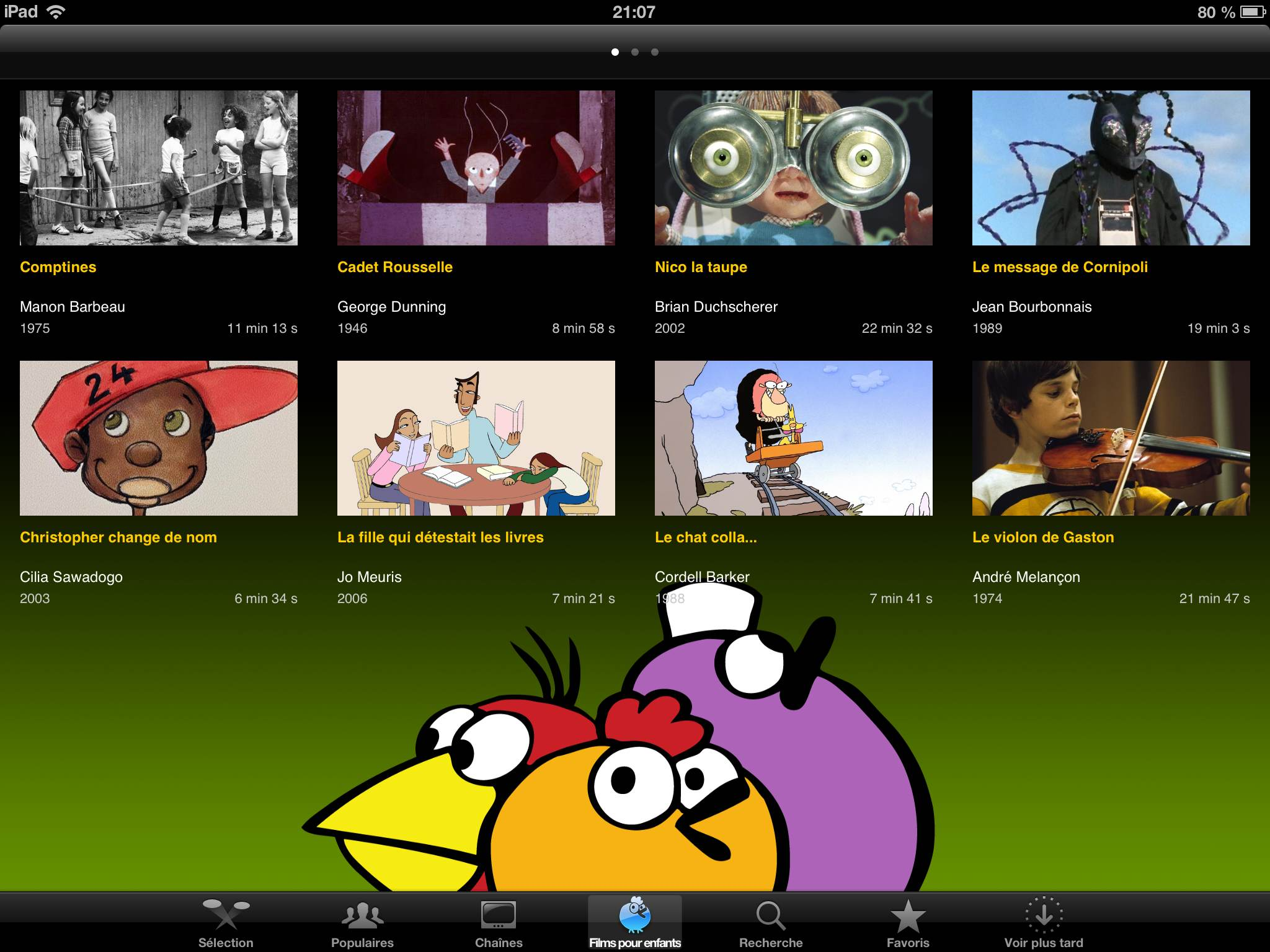 ONF application iPad iPhone Android La Souris Grise 1
