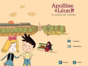 Apolline et Léon iPad Android Avant goût studio