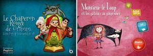 Les chaperons rouges Applis iPad iPhone Enfant Apple