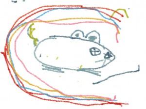 La souris de Coline, 5 ans