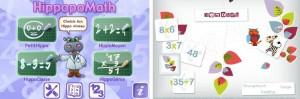 HippopoMath MemoMath apps iPhone iPad