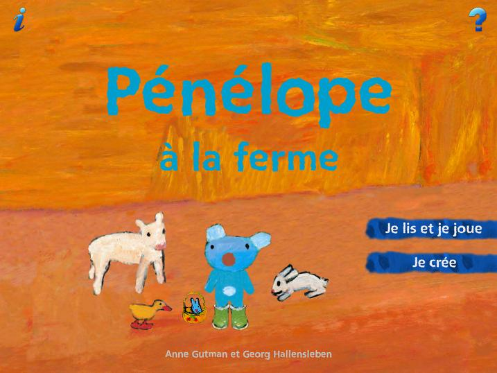 Pénélope GallimardJ eunesse App iPad iPhone 1