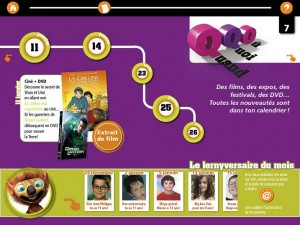 SciencetevieKids Mondadori Application iPad 5