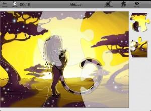 BeePuzzles Netemedia appli iPad 2