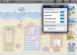 BeePuzzles Netemedia appli iPad 3