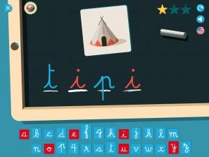 LetterSounds Son des Lettres 3 Elles Interactive Appli iPad Montessori 4