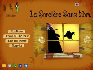Slimcricket La Sorcière sans nom iPad iPhone Android 1