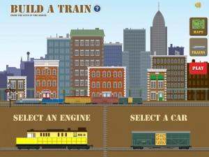 Build a train appli iPad 1