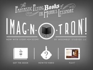 Morris Lessmore Moonbot Studios ImaginTron iPhone iPad 2