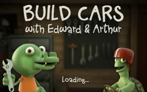 Build Cars with Edward et Arthur iPhone iPad Appli Enfant David Sjölander La Souris Grise 1
