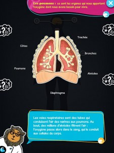 Chocolapps Explique Tom le corps humain iPad Denis Brogniart 3
