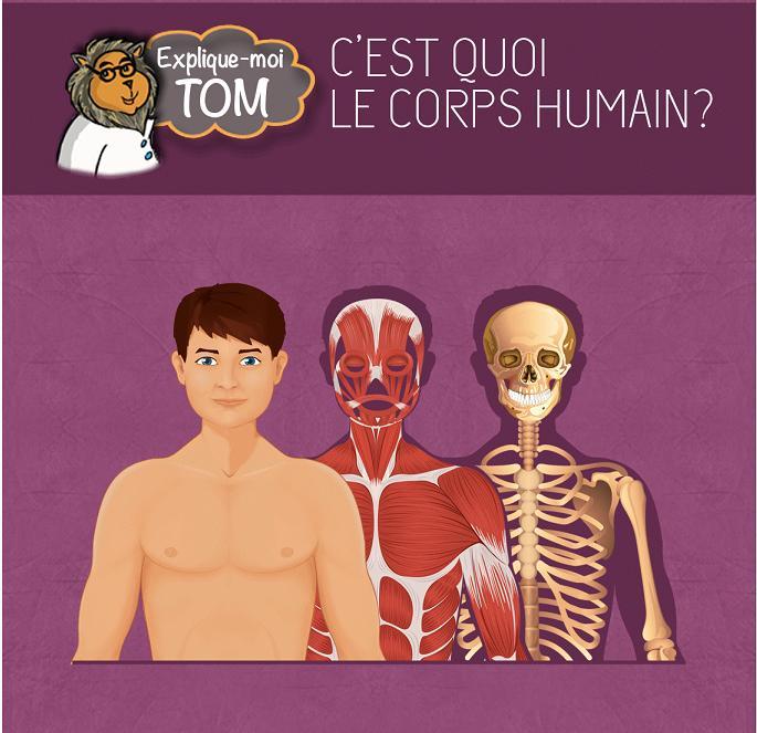 Chocolapps Explique Tom le corps humain iPad Denis Brogniart