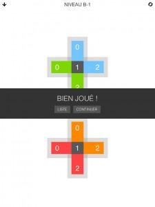 Seq appli iPhone iPad jeu Nuage Touch 2