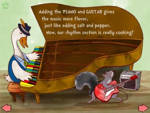 The Melody Book Jazzy Day app iPad iPhone Enfant 2