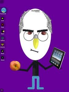 Faces iMake Hanoch Piven app iPad iPhone La Souris Grise 6