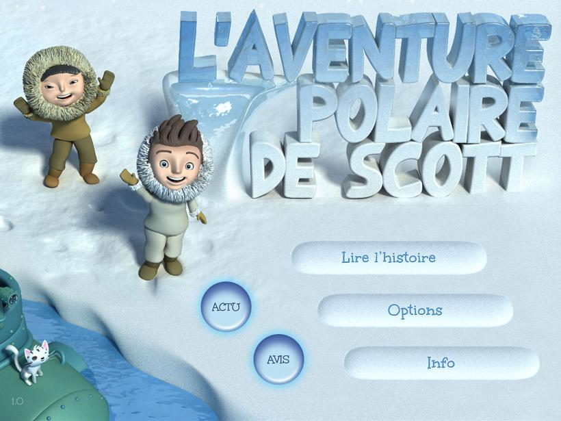 L'aventure polaire de Scott iPhone iPad Android Square Igloo La Souris Grise 1