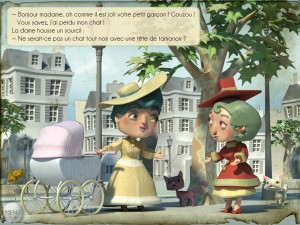 La dame aux mille chats Square Igloo Appli iPhone iPad Android La Souris Grise