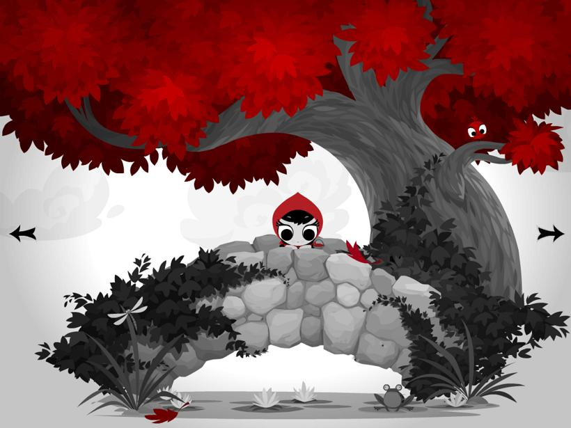 Lil Red appli iPad La Souris Grise 1