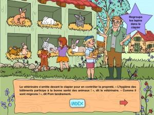 Lucky You Le vétérinaire iPad La souris grise 1