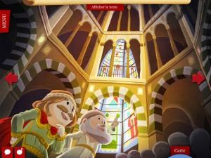 Quelle Histoire iPad iPhone Charlemagne La souris grise 2