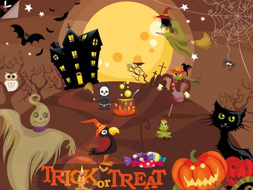Soupe de mots des sorcières Kidschool appli iPad la souris grise 1
