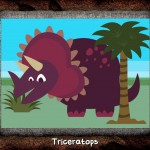 Dinosaur Wombi iPad iPhone La Souris Grise 1