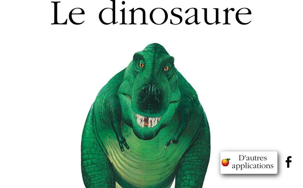 Dinosaure Gallimard Jeunesse iPad iPhone Android La Souris Grise 1