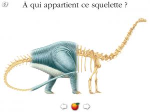 Dinosaure Gallimard Jeunesse iPad iPhone Android La Souris Grise 9