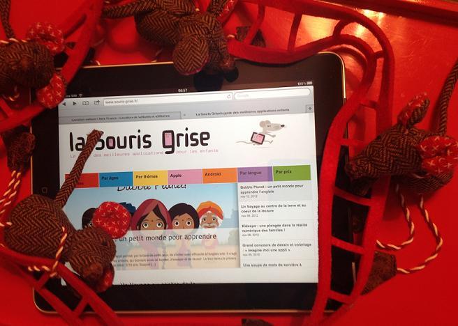 Souris de Noël La Souris Grise