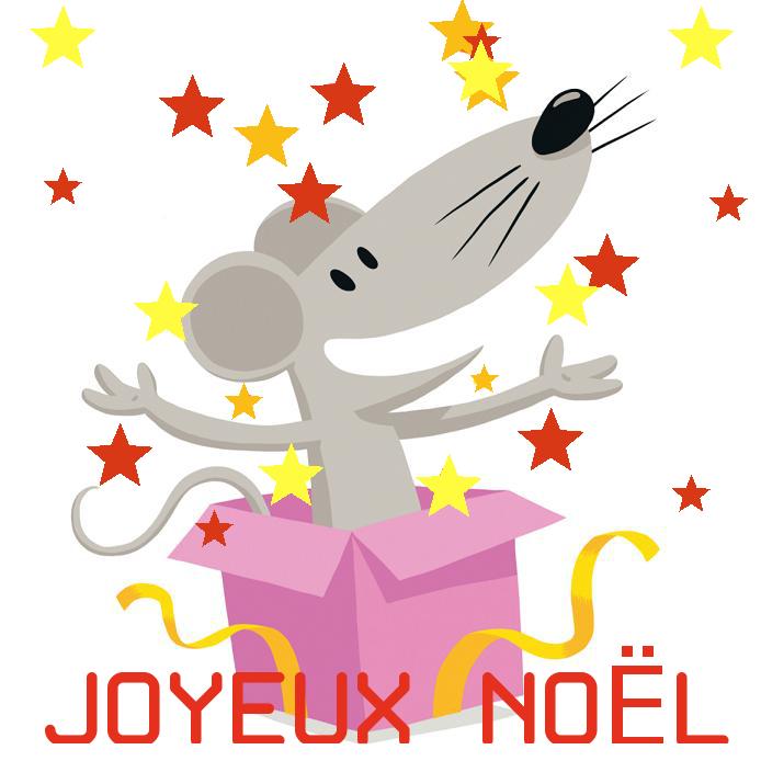 La Souris Grise cadeau Noël Happy Appli