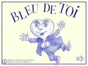 Bleu de Toi Dominique Maes Cotcotcotapps La Souris Grise 1