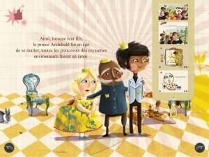 La princesse aux petits prouts  iPad Android Audois et Auteuil La Souris Grise 4