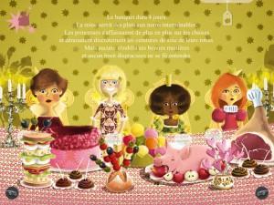 La princesse aux petits prouts  iPad Android Audois et Auteuil La Souris Grise 5
