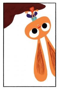 Monsieur lapin et la carotte sauvage tablette application iPhone Enfant La Souris Grise 2