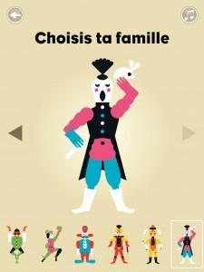 Gommette Circus application tablette iPad enfant Sarbacane La Souris Grise 2