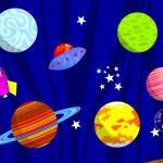 Amos de l'espace Poisson Rouge Apple Android applications tablette enfants La Souris Grise 5
