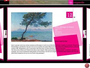 Joue avec Claude Monet application Dada tablette Enfant La Souris Grise 3