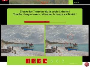 Joue avec Claude Monet application Dada tablette Enfant La Souris Grise 5