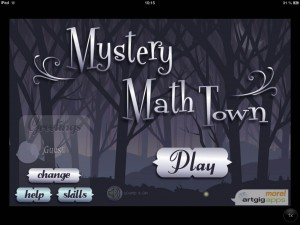 Mystery Math Town Artgig La Souris Grise Application iPhone iPad Enfant 1