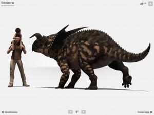 Fantastiques Dinosaures Oreakids application iPad La Souris Grise 1