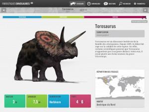 Fantastiques Dinosaures Oreakids application iPad La Souris Grise 2