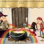 La petite sorcière à l'école SlimCricket application Enfant Apple Amazon Android La Souris Grise 2