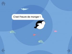 Paul le Manchot Gallimard Jeunesse iPhone iPad application enfant La Souris Grise 3