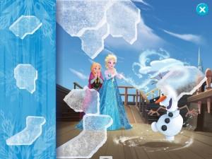 La Reine des neiges application 3