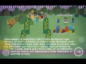 Les habits neufs du président 1
