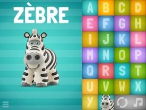Alphabet parlant 1